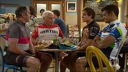 Karl Kennedy, Lou Carpenter, Kyle Canning, Nate Kinski in Neighbours Episode 7100