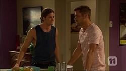 Tyler Brennan, Mark Brennan in Neighbours Episode 7100