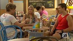 Daniel Robinson, Amber Turner, Josh Willis in Neighbours Episode 7101