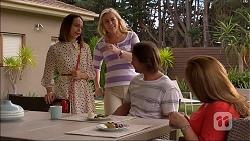 Imogen Willis, Lauren Turner, Brad Willis, Terese Willis in Neighbours Episode 7102