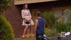 Imogen Willis, Tyler Brennan in Neighbours Episode 7102