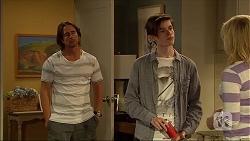 Brad Willis, Bailey Turner, Lauren Turner in Neighbours Episode 7102