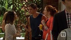 Imogen Willis, Tyler Brennan, Samantha Turnball in Neighbours Episode 7102