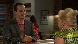 Nick Petrides, Sheila Canning in Neighbours Episode 7103