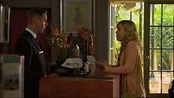 Glen Darby, Georgia Brooks in Neighbours Episode 7103