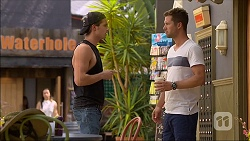 Tyler Brennan, Mark Brennan in Neighbours Episode 7103