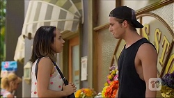 Imogen Willis, Tyler Brennan in Neighbours Episode 7103