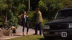 Bouncer II, Naomi Canning, Mark Brennan in Neighbours Episode 7104