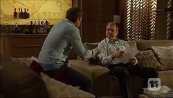 Paul Robinson, Karl Kennedy in Neighbours Episode 7104