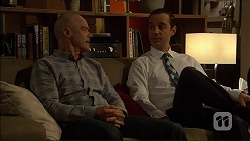 Paul Robinson, Nick Petrides in Neighbours Episode 7105