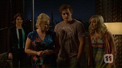 Naomi Canning, Sheila Canning, Kyle Canning, Georgia Brooks in Neighbours Episode 7105