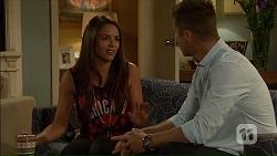 Paige Novak, Mark Brennan in Neighbours Episode 7105
