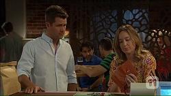 Mark Brennan, Sonya Mitchell in Neighbours Episode 7105
