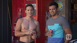 Josh Willis, Nate Kinski in Neighbours Episode 7106