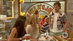 Paige Novak, Amber Turner, Daniel Robinson in Neighbours Episode 7106