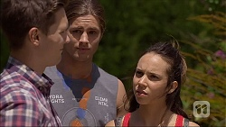 Josh Willis, Tyler Brennan, Imogen Willis in Neighbours Episode 7106