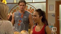 Amber Turner, Tyler Brennan, Imogen Willis in Neighbours Episode 7107