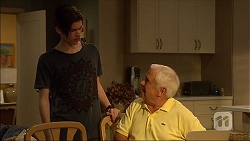 Bailey Turner, Lou Carpenter in Neighbours Episode 7107