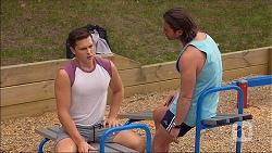 Josh Willis, Brad Willis in Neighbours Episode 7107