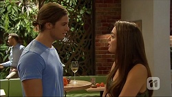 Tyler Brennan, Paige Smith in Neighbours Episode 7107