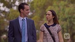 Nick Petrides, Imogen Willis in Neighbours Episode 7109
