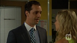 Nick Petrides, Georgia Brooks in Neighbours Episode 7110