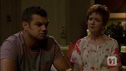 Nate Kinski, Susan Kennedy in Neighbours Episode 7110