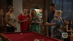 Hayley Hahn, Toadie Rebecchi, Sonya Rebecchi, Mark Brennan, Sheila Canning in Neighbours Episode 7110
