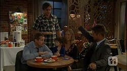 Toadie Rebecchi, Kyle Canning, Nell Rebecchi, Sonya Mitchell, Mark Brennan in Neighbours Episode 7110