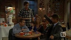 Toadie Rebecchi, Kyle Canning, Nell Rebecchi, Sonya Rebecchi, Mark Brennan in Neighbours Episode 7110