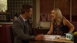 Mark Brennan, Georgia Brooks in Neighbours Episode 7111