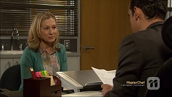 Rhonda Brooks, Nick Petrides in Neighbours Episode 7111