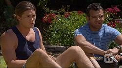 Tyler Brennan, Nate Kinski in Neighbours Episode 7112