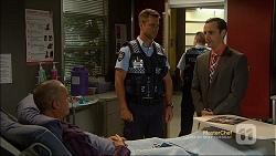 Paul Robinson, Mark Brennan, Nick Petrides in Neighbours Episode 7112