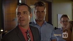 Nick Petrides, Mark Brennan in Neighbours Episode 7112