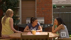 Amber Turner, Paige Novak, Imogen Willis in Neighbours Episode 7113