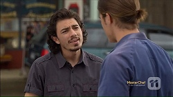 Joey Dimato, Tyler Brennan in Neighbours Episode 7113