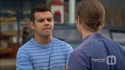 Nate Kinski, Tyler Brennan in Neighbours Episode 7113