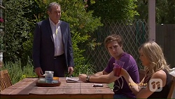 Karl Kennedy, Kyle Canning, Georgia Brooks in Neighbours Episode 7113