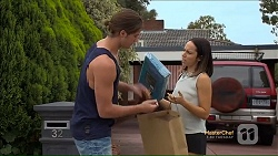 Tyler Brennan, Imogen Willis in Neighbours Episode 7113