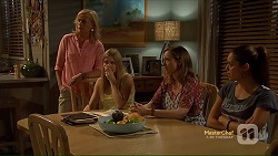 Lauren Turner, Amber Turner, Sonya Rebecchi, Paige Smith in Neighbours Episode 7113