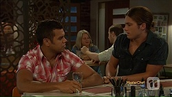 Nate Kinski, Tyler Brennan in Neighbours Episode 7113