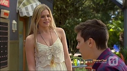 Amber Turner, Josh Willis in Neighbours Episode 7114