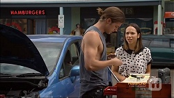 Tyler Brennan, Imogen Willis in Neighbours Episode 7114