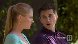 Danni Ferguson, Josh Willis in Neighbours Episode 7114