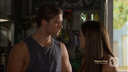 Tyler Brennan, Paige Novak in Neighbours Episode 7114