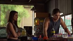 Paige Novak, Tyler Brennan in Neighbours Episode 7115