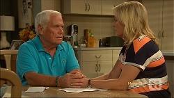 Lou Carpenter, Lauren Turner in Neighbours Episode 7115