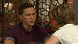 Josh Willis, Daniel Robinson in Neighbours Episode 7115