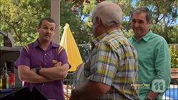 Toadie Rebecchi, Lou Carpenter, Karl Kennedy in Neighbours Episode 7115